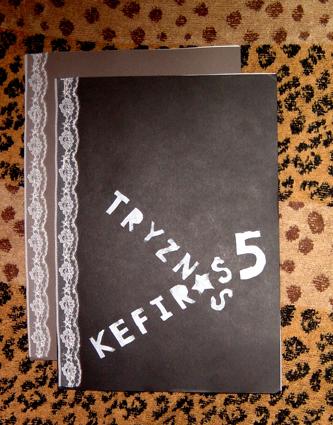 tryznas*kefiras #5 cover